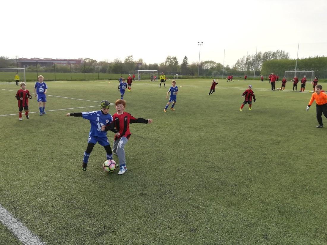 SK Třeboradice porazili fotbalovou akademii